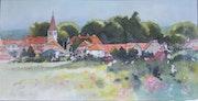 Village de Haute Saône.