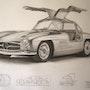 Mercedes Gullwing 1954. Eric Stavros