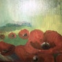 Les coquelicots. Wallace Waide