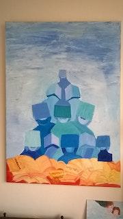 Tour de Babel Tête au carré. Marie-José Lefevre