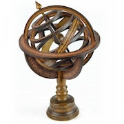 Altair - Classic version armillary sphere. The Wood Works Corner
