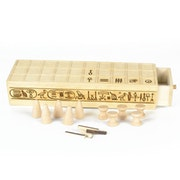 Senet - Tulipwood egyptian game. The Wood Works Corner