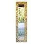 Pimavera miroir en mosaïque byzantine. Atelier De Mosaïque d'art Urschel l'artisan