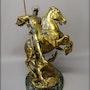 Saint Georges par E. Fremiet. Marc Menzoyan Antiquités