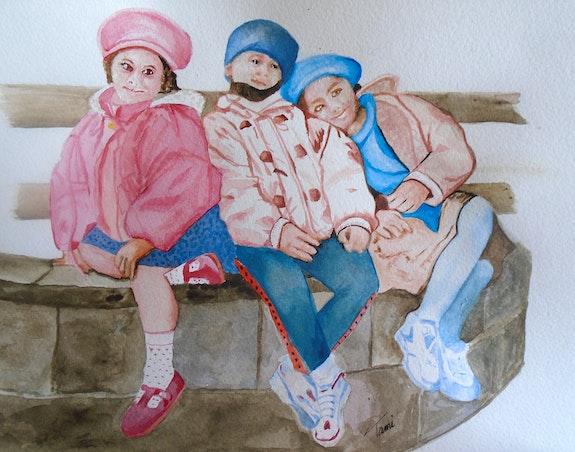 Les enfants au Pays Basque. Tami Tami