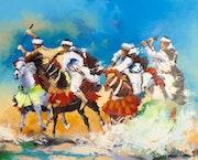 La Tbourida, (fantasia) chante la gloire des cavaliers et des chevaux du Maroc.