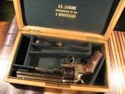 Revolver lefaucheux 1854 en coffret. Carma Gnolet