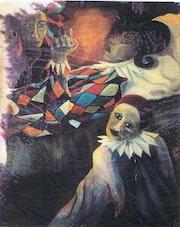 Série Arlequin, Pierrot au chevet d'Arlequin.