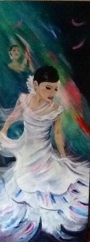 Gypsy Flamenco Dancer.