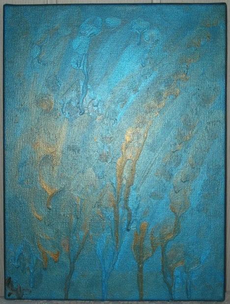 Ressource amoureuse collection lumiere du dieu vivant n°2. Angele Sevin Peinture Parfum Bijoux D Art
