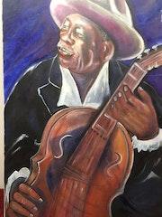 John Lee Hooker 2001.