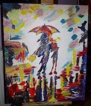 Il pleut. Pierrette Kuhn