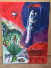 Reproduction de Chagall.
