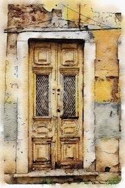 Puerta. Eduardo De Blas Duport