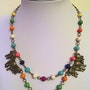 Africa necklace. Emcee Jewelry