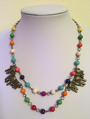 Africa necklace.