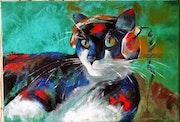 Le chat d'Etienne.