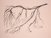 Arbre (Branche d'hiver) n° 3.