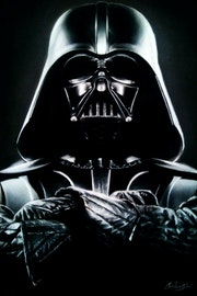 Darth Vader. Star wars. Carolina Soler