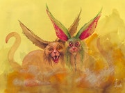 Whimsical Cats - Wunderliche Katzen. Manfred Schmidt