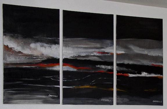 Tsunami. Christo. L Christo Le Garreres
