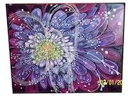 Flor fractal.