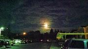 Rising moon.