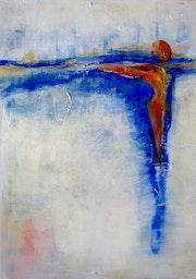 Morgenröte, Original Acryl Werk, 2011.