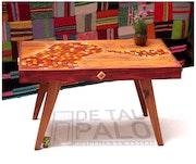 Mesa ratona «Arco Iris». De Tal Palo - Historias En Madera