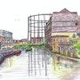 Regents Canal Hackney. Bfj Wighton