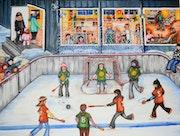 Souvenir d'enfance. Sport d'hiver de mon jeune temps..