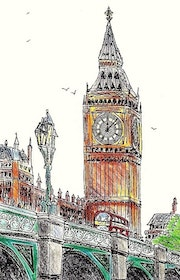 Westminster Chimes.