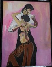 Tango Lovers Acrylic.