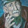 El viejo del muelle. Veronica Medina Borrega
