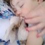 Mon petit garçon dort. Hugo