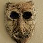 Plaster Mask. Christian Anangono