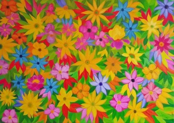 Le temps des fleurs. Gerard Flohic Gerard Flohic
