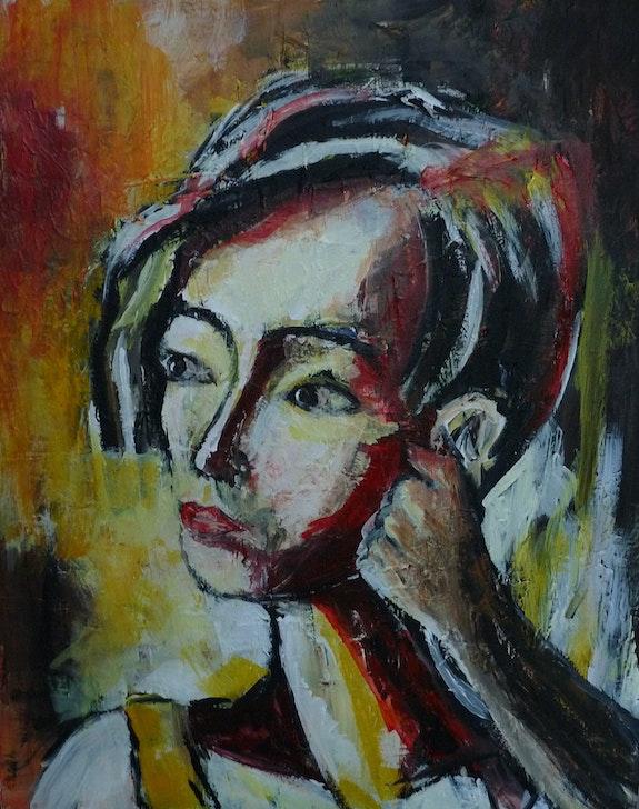 La Penseuse.  Marie Ferrand