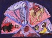 Entre la luna y el sol. Maria Teresa Lopez Sancho