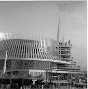 Pavillon de la France - Expo 67 à Montréal, qc. Yves Cauden