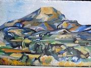 Hommage a Paul Cézanne la montagne sainte victoire. Scali'arts