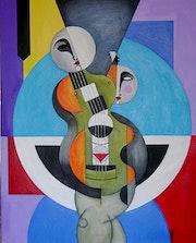 Chica concierto guitarra. Manuel Garriga Vazquez