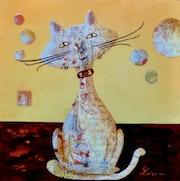 « Lou » de la Collection « Les Chats`Oeuvres ». Carloi