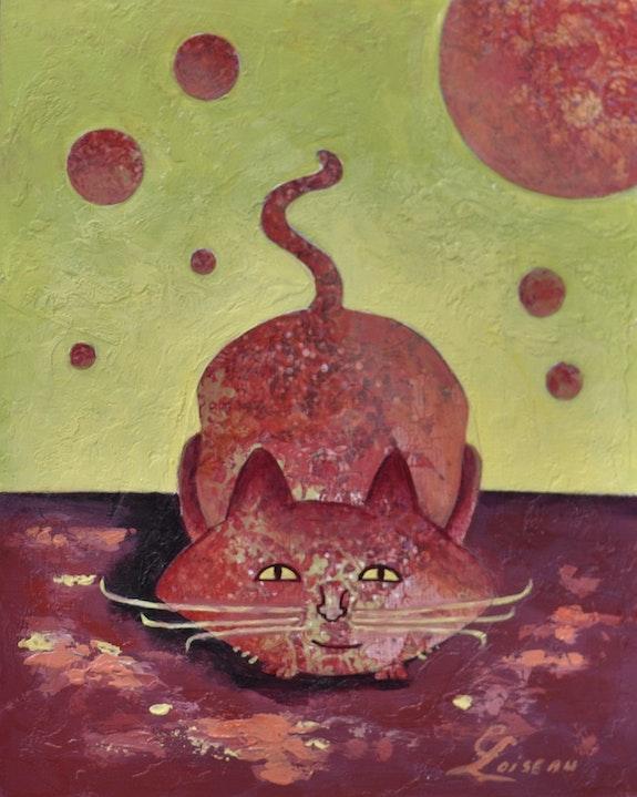 « Arthur » de la Collection « Les Chats`Oeuvres ». Carmen Loiseau Carloi