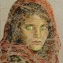 Niña Afgana de Steve McCurry. Veronica Medina Borrega