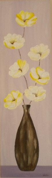 «Vase aux Anémones» Acrylique.