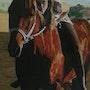 Marta y su caballo. Emota