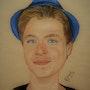 Le jeune homme au panama bleu. Sybartiste