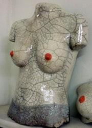 Elodie en corset.
