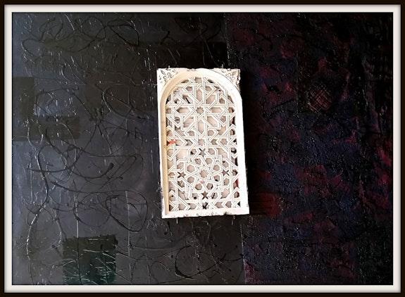 «Granada, finestra de guix». Joan Pascuti Joan Pascuti